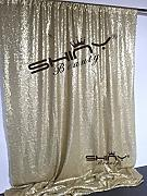 """ShinyBeauty 10 x 10 Pailletten Hintergrund-Matte Gold Pailletten Photobooth Hintergrund Party Hochzeit Sekt 2017 Silvester Weihnachtsdekoration Hintergründe Hintergründe Hintergründe"""