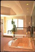 031091 Pink Jacuzzi With Spindled Handrail A4 Photo Poster Print 10x8