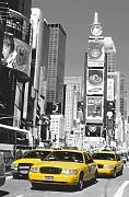 1art1 40564 New York - Times Square, Gelbes Taxi Fototapete Poster-Tapete (175 x 115 cm)