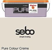 2,5l Alpina Pure Color Creme Trend Wandfarbe Matt #34