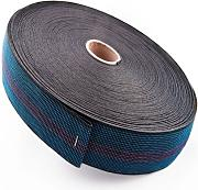 20 Metres of 2 (50mm) Elasticated Upholstery Webbing for Sofa, Chair Seat by Home Fittings