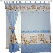 kinderzimmer-gardinen günstig online kaufen   lionshome - Vorhange Kinderzimmer Blau