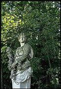 346032 Statue With Garland Versailles France A4 Photo Poster Print 10x8
