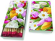 Produktbild: 45 Streichhölzer Kaminhölzer 11 cm Matches Colourful greetings