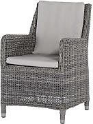 4Seasons Outdoor Indigo dining Chair Loungesessel Polyrattan rock wicker