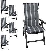 polsterauflagen hochlehner g nstig online kaufen lionshome. Black Bedroom Furniture Sets. Home Design Ideas