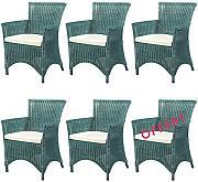 rattansessel gruen g nstig online kaufen lionshome. Black Bedroom Furniture Sets. Home Design Ideas