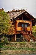 807084 Log Sauna In Yllas Finland A4 Photo Poster Print 10x8