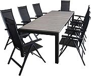 gartentisch aluminium ausziehbar g nstig online kaufen. Black Bedroom Furniture Sets. Home Design Ideas