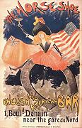 A4 Photo Truchet Abel 1857 1918 The Horseshoe English & American Bar 1890s Poster