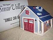 Produktbild: Abteilung 56 Single Auto Garage Snow Village