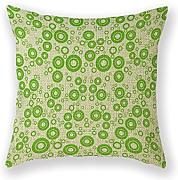 AHArtSaleStore O20L Color Sofa Circles Decoration Pillow Case 18x18 inch