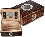 Airsystem Humidor Window Pianolack V-650 inkl. Lifestyle-Ambiente Tastingbogen