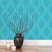 moderne tapeten günstig online kaufen | lionshome - Wohnzimmer Tapete Blau