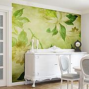 Fototapete Wohnzimmer Günstig Online Kaufen | Lionshome Fototapete Grn Wohnzimmer