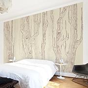 Livingwalls Fototapete «vintage Villa Hall» 036000. Wand Im ... Fototapete Wohnzimmer Braun