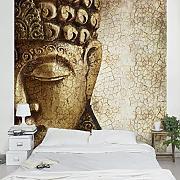 fototapete buddha günstig online kaufen | lionshome - Fototapete Wohnzimmer Braun
