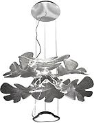 Artemide Lampe LED chlorophilia transparent/chrom