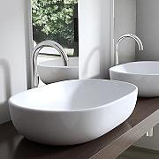 Aufsatzwaschbecken oval mit unterschrank  MAI & MAI Waschbecken günstig online kaufen | LIONSHOME