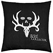 B Lyster shop Bone Collector Black J225 Cotton & Polyester Soft Zippered Cushion Throw Case Pillow Case Cover