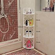 Badezimmerzahnstangen/Bad Ecke Rack/Stock dreieckige Regal/WC Bad Bad Lagerregal-C