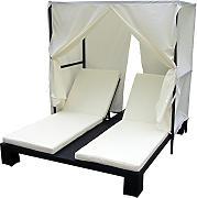 doppelliege garten g nstig online kaufen lionshome. Black Bedroom Furniture Sets. Home Design Ideas
