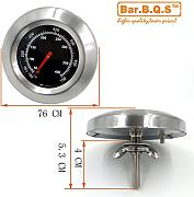 Bar.B.Q.S 01T02 Barbecue Templehre Tasche Grill BBQ Grill Ofen-Thermometer-Küche Kochen Thermometer-Controller im Freien für Charbroil 463.212.511, Chargriller 3008,5252, Dyna-glo dcp480csp, König Griller 3008, 5252, Präsidenten Wahl 324.687, shinerich srgg41009