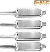 Bar.b.q.s 14631 (4-Pack) Barbecue Grill Charbroil, Kenmore und Thermosgasgrill Modelle Edelstahl-Grill-Brenner-Ersatzteile