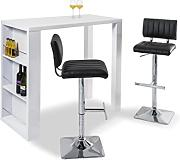 Bar-Set LOUNGE Bartisch inkl. 2 Barhocker