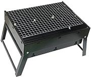 Barbecue Grill, Portable Holzkohle Barbecue Camping Outdoor BBQ Utensil - 41x56x36cm