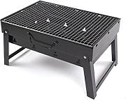 Barbecue Grill, Portable Holzkohle Barbecue Camping Outdoor BBQ Utensil - 35x27x20cm