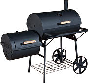BBQ Smoker Basis-schwarz
