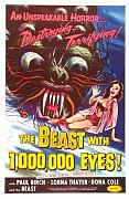 Beast With 1000000 Eyes Poster 01 Metal Sign A4 12x8 Aluminium