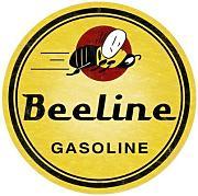 Produktbild: Bee Line Gasoline Vintage Metal Sign Auto Car Garage Shop 14 X 14 Steel Not Tin by The Vintage Sign Store