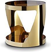 Beistelltisch glas rund g nstig online kaufen lionshome for Beistelltisch glas gold