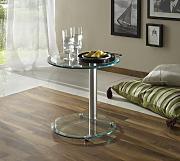 couchtisch glas chrom g nstig online kaufen lionshome. Black Bedroom Furniture Sets. Home Design Ideas