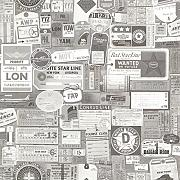 Tapeten vintage tapete g nstig online kaufen lionshome for Vintage tapete grau