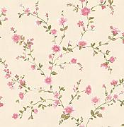 "BHF fd22249 Ami ""Delphine Floral Tapete – Pink"