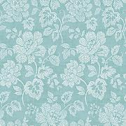 "BHF fd22735 ""Mirabelle Dotted Floral Tivoli Floral aqua Tapete"" Tapete – Türkis"