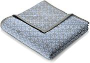 Biederlack Wohndecke Orion Cotton | Blue Star - 150 x 200