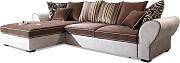 BlackRedWhite Ecksofa Country - Braun