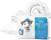 Boston Duvet & Pillow Co Kids 7,5 Komplettes Erstes Bett-Set, weiß