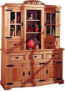 Produktbild: Buffetschrank Zacateca - Kiefer massiv - Antik