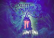 "Bullet For My Valentine 17 Matthew ""matt Tuck Michael"" padge Paget Michael ""Elch"" Thomas Jamie Mathias toller Rock-Metal Album Cover Design Musik Band beste Foto Bild Einzigartige Print A3 Poster"
