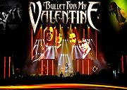 "Bullet For My Valentine 29 Matthew ""matt Tuck Michael"" padge Paget Michael ""Elch"" Thomas Jamie Mathias toller Rock-Metal Album Cover Design Musik Band beste Foto Bild Einzigartige Print A3 Poster"