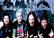 "Bullet For My Valentine 35 Matthew ""matt Tuck Michael"" padge Paget Michael ""Elch"" Thomas Jamie Mathias toller Rock-Metal Album Cover Design Musik Band beste Foto Bild Einzigartige Print A3 Poster"