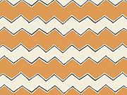 Camelot Stoffe Spielplatz Zig Zags Quilting Stoff, orange, Meterware + Frei Minerva Crafts Craft Guide