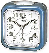 Produktbild: Casio TQ142-2Travel Quartz Analogue Wake Up Timer Beep Alarm Clock - Metallic Blue
