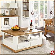 couchtisch landhausstil g nstig online kaufen lionshome. Black Bedroom Furniture Sets. Home Design Ideas