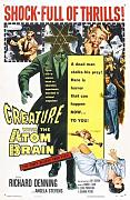Creature With The Atom Brain Poster 01 Metal Sign A4 12x8 Aluminium